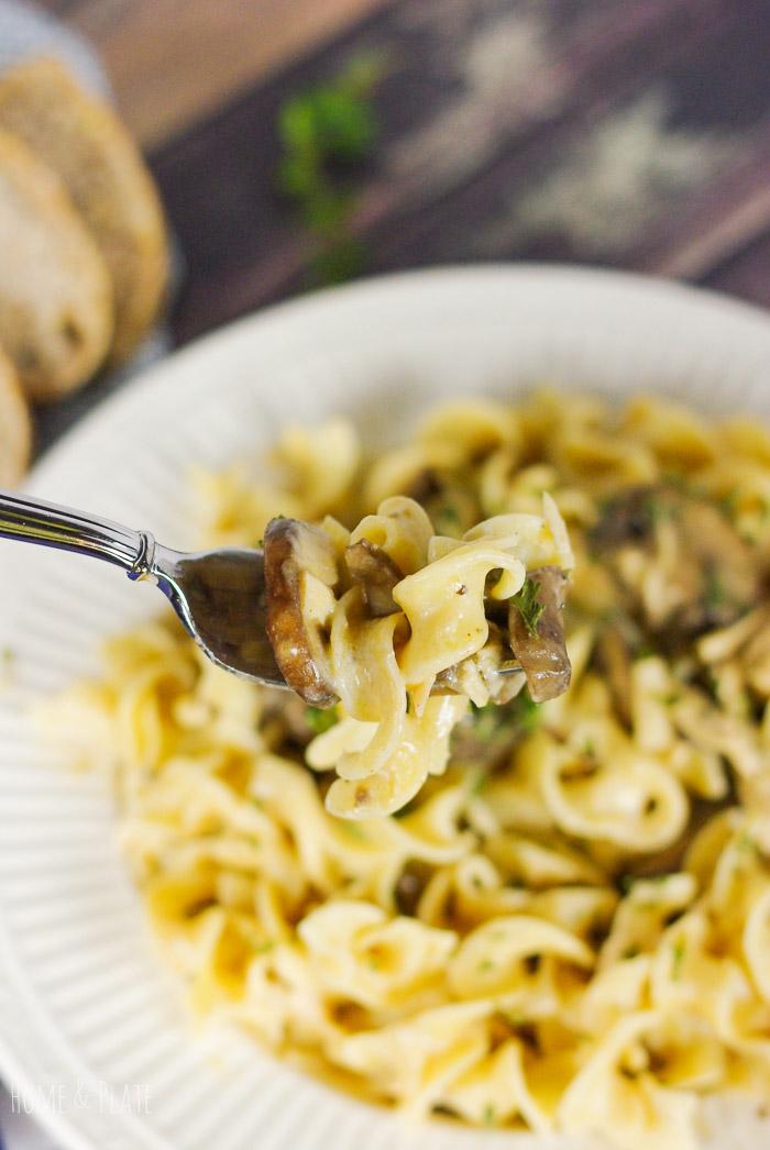 Leftover Turkey Mushroom Stroganoff Home Plate Fresh Ideas Simple Recipes