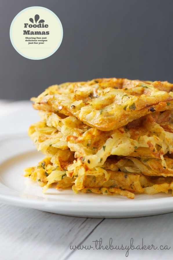 Waffle-Iron Hash Brown Breakfast Potatoes
