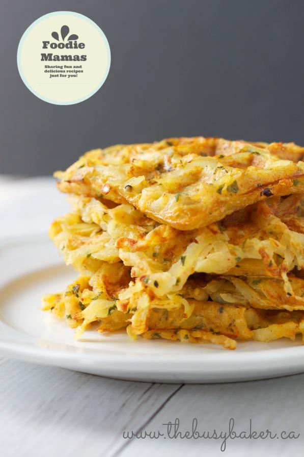 Waffle-Iron Hash Brown Breakfast Potatoes