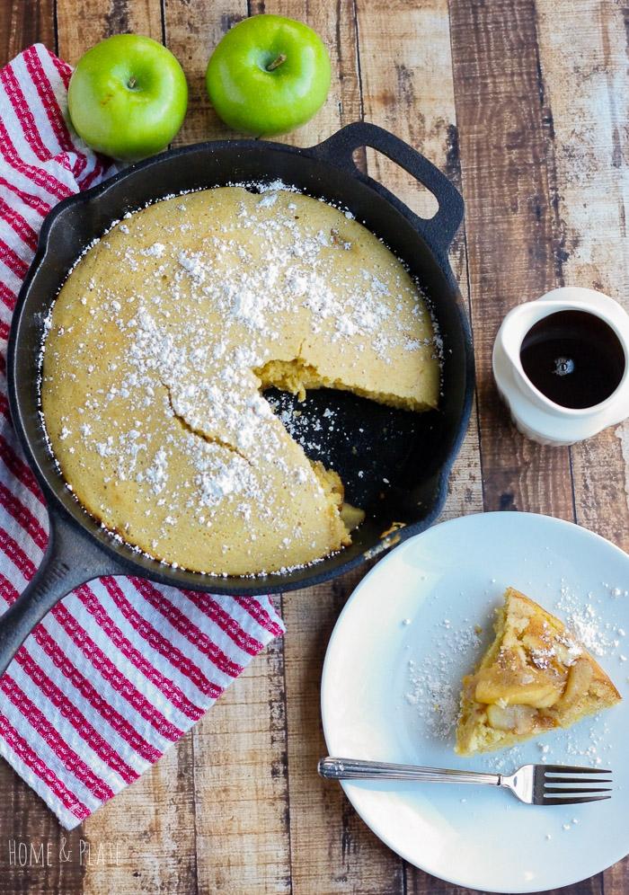 skillet apple pancake