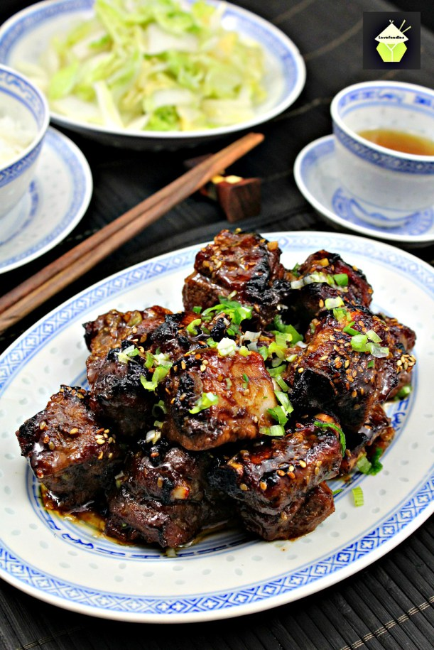 Sticky Sweet Chinese Ribs | Lovefoodies