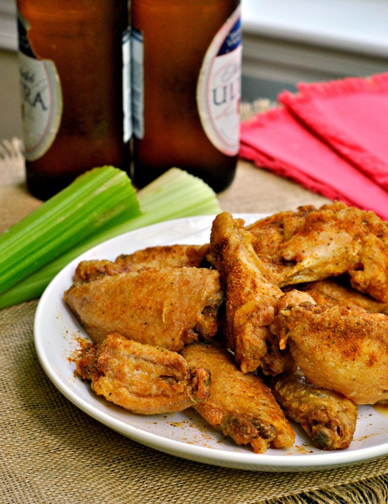 Crispy Baked Old Bay Wings | Go Eat Repeat