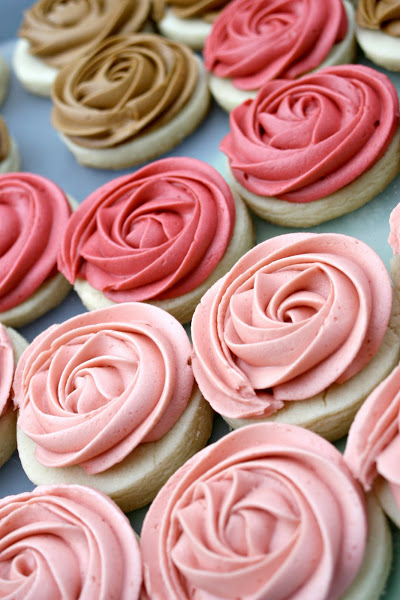 Easy Rosette Sugar Cookies