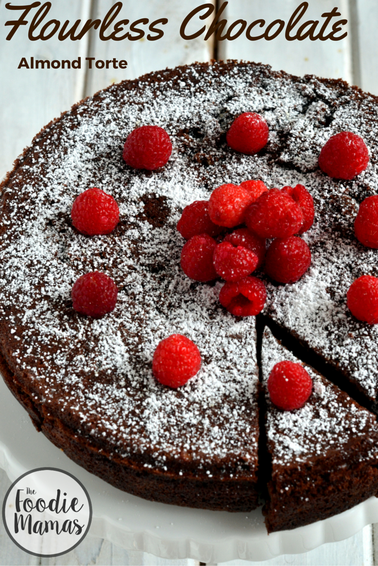 Flourless Chocolate Almond Torte