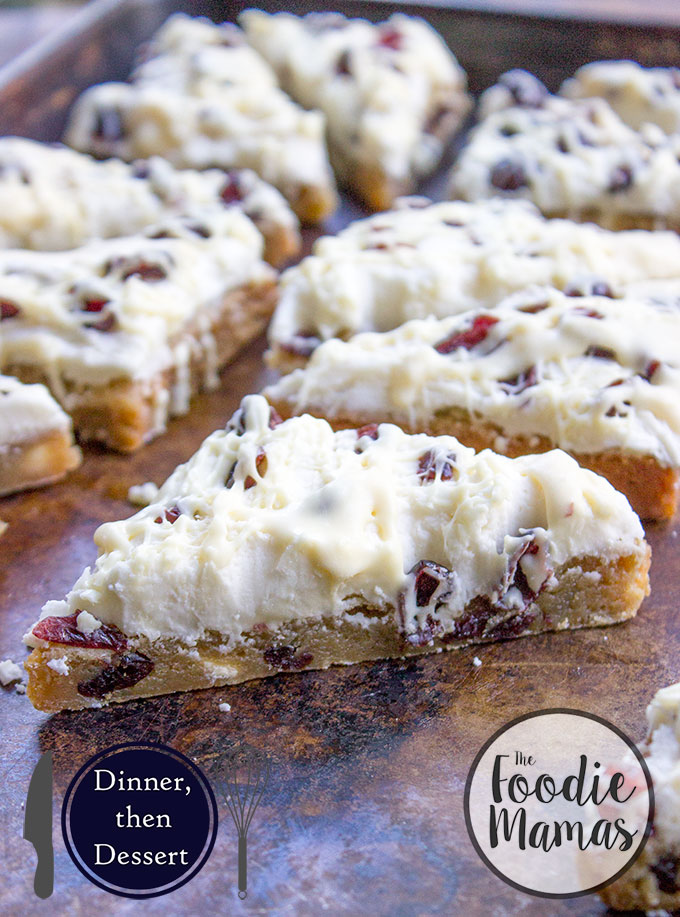 Starbucks White Chocolate Cranberry Bliss Bars