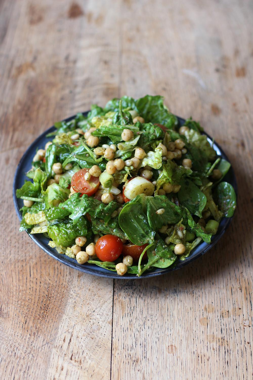 Chickpea & Harissa salad