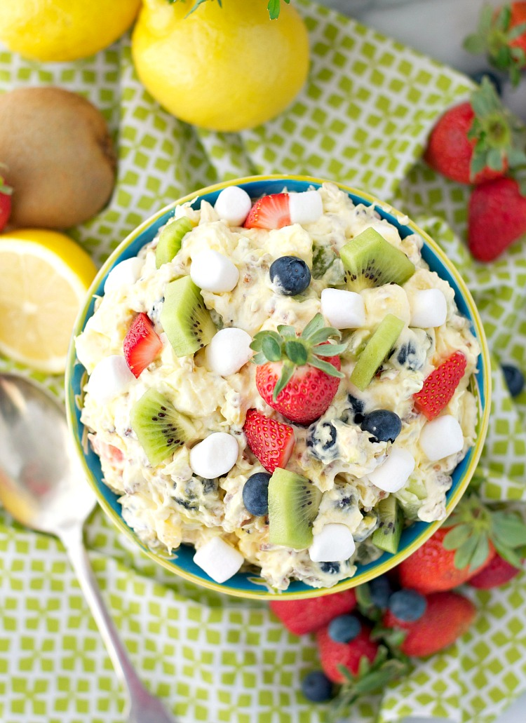 Spring Fling Fluff Fruit Salad