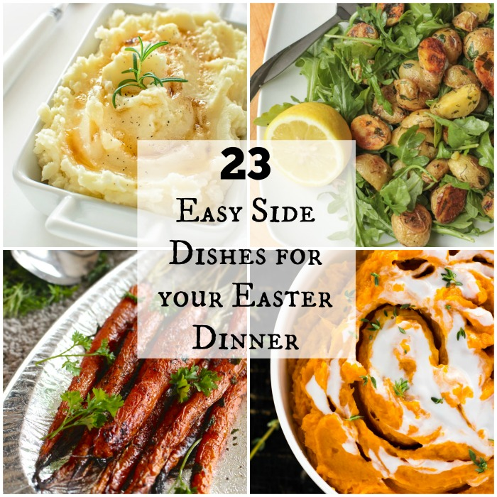 23 easy side dishes for your easter dinner feed a crowd for Non traditional easter dinner ideas