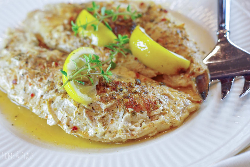 Grilled Grouper With Lemon Amp Herbs Home Amp Plate Easy Seasonal Recipes