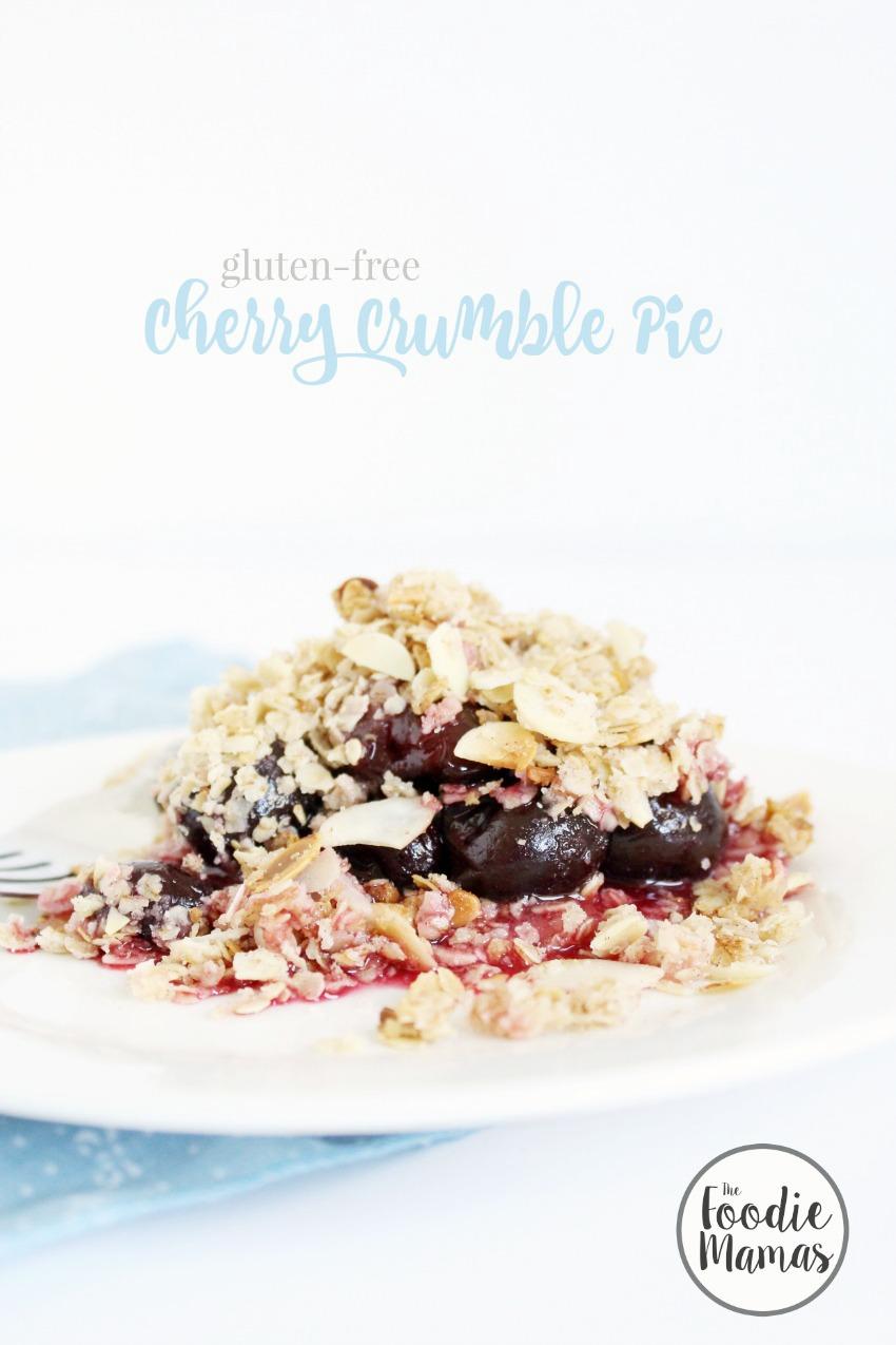 Gluten-Free Cherry Crumble Pie
