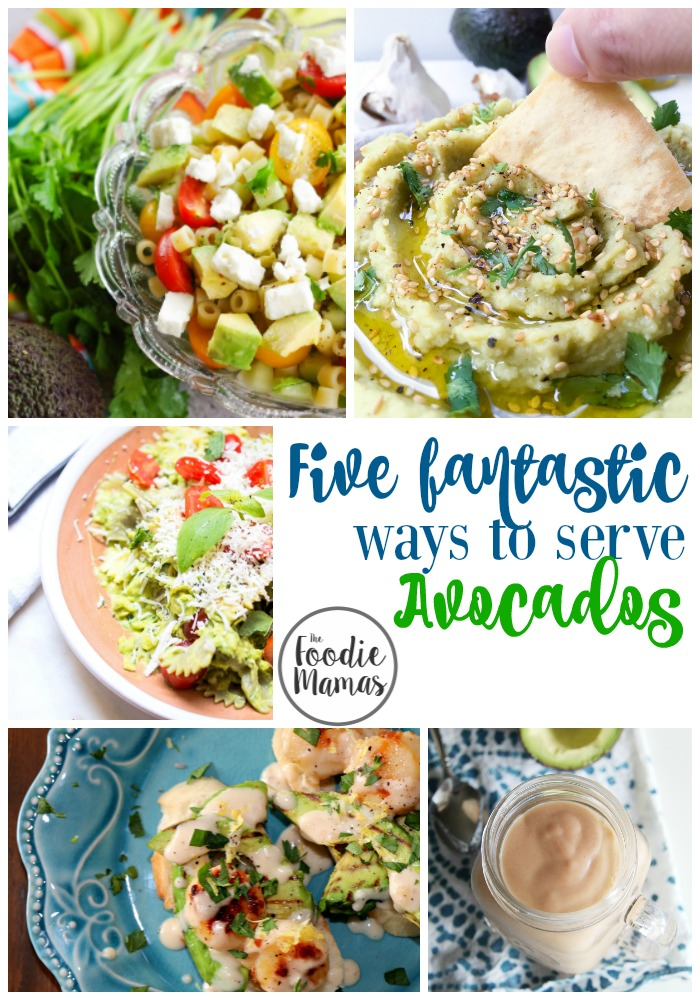Five Fantastic Ways to Serve Avocados | www.homeandplate.com | Delicious recipes from the Foodiemamas