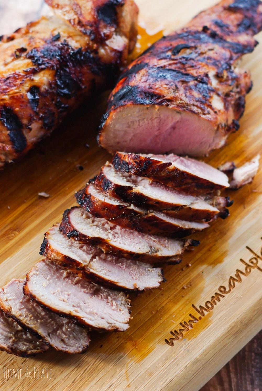Balsamic Amp Brown Sugar Pork Tenderloin Home Amp Plate