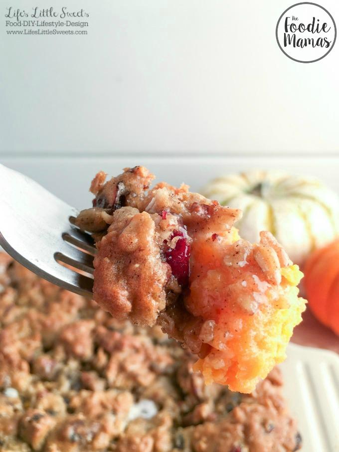 Oatmeal Cookie Marshmallow Sweet Potato Casserole www.LifesLittleSweets.com 680x907 FoodieMamas.jpg