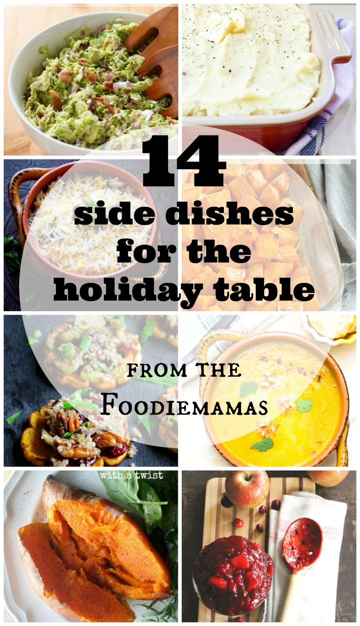14 Side Dishes for the Holiday Table | www.homeandplate.com | Celebrate Thanksgiving and Christmas with these delicious side dishes perfect for any holiday table.