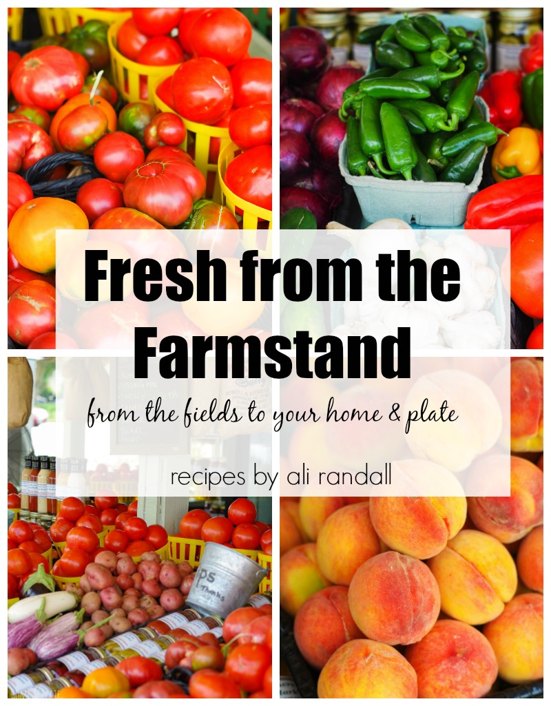 Fresh from the Farmstand Cookbook | Home & Plate | 55 recipes featuring seasonal fruits and vegetables.