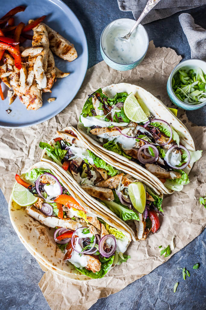 Chicken Tacos | Vibrant Plate