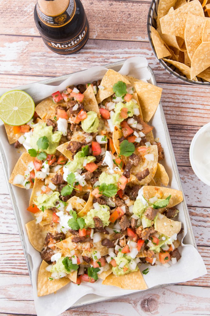 Loaded Steak Nachos | The Missing Lokness