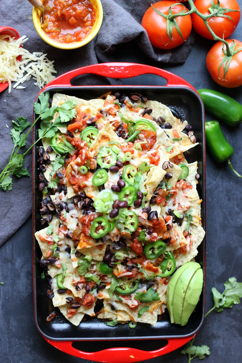 Sheet Pan  Spicy Nachos | Garden in the Kitchen