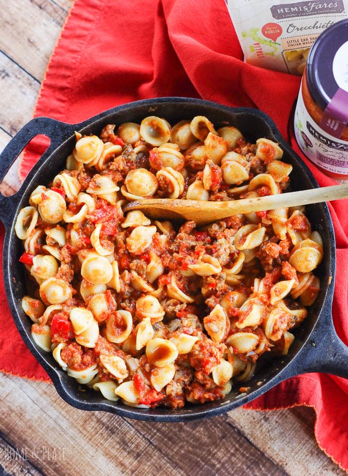 baked-skillet-pasta-easy-sasuage-ragu-4.jpg
