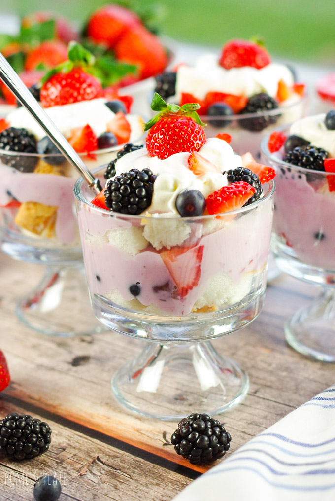 Red, White & Blue Trifles