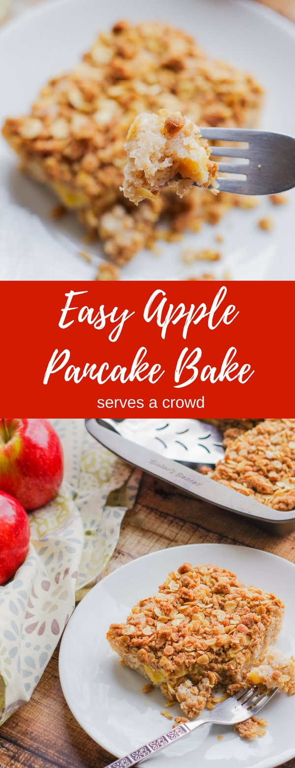 Apple pie pancake casserole home plate apple pie pancake casserole homeandplate combine the flavors of apple ccuart Gallery