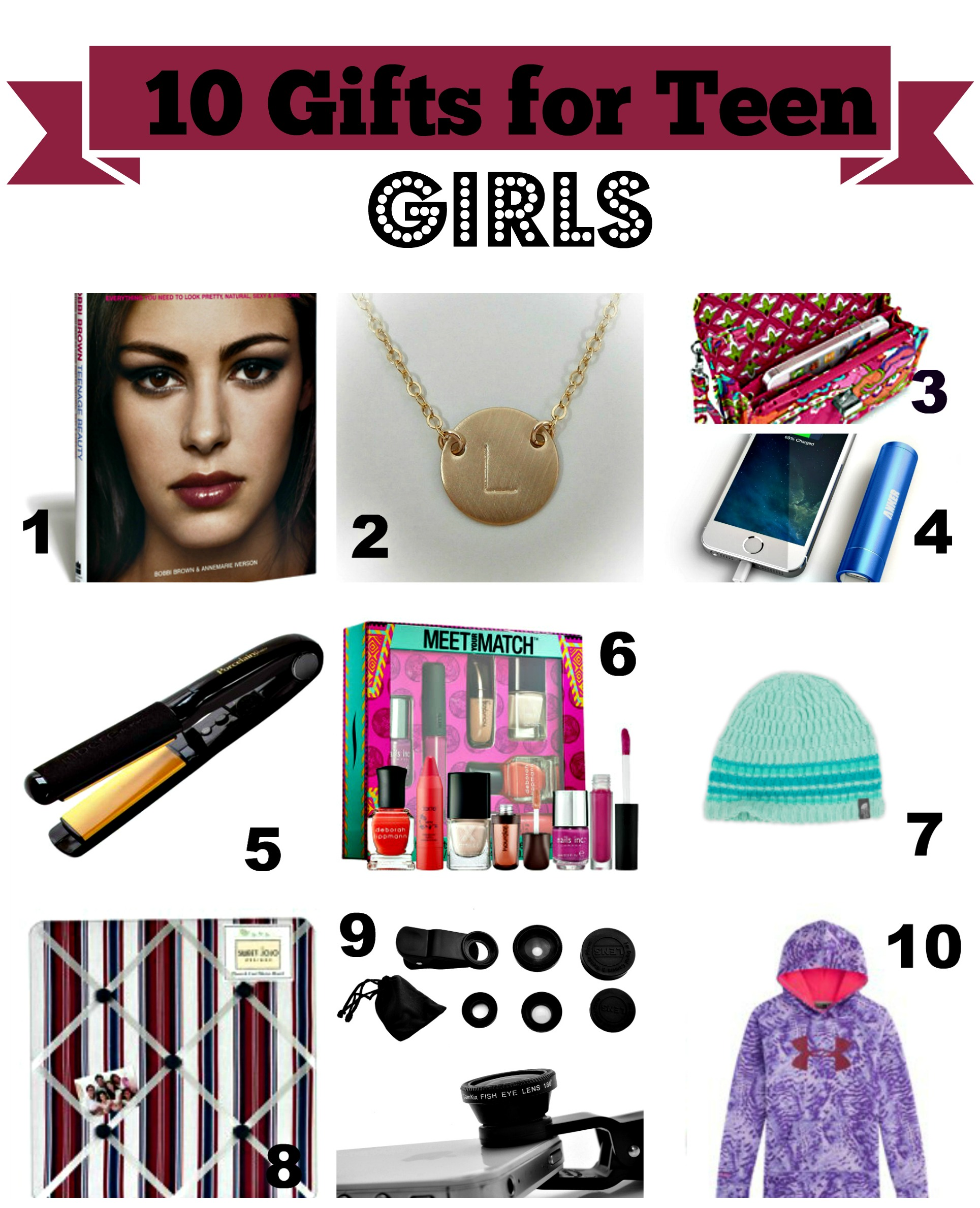 Gift Ideas for Teenage Girls - All Under $50 — Home & Plate - Easy ...