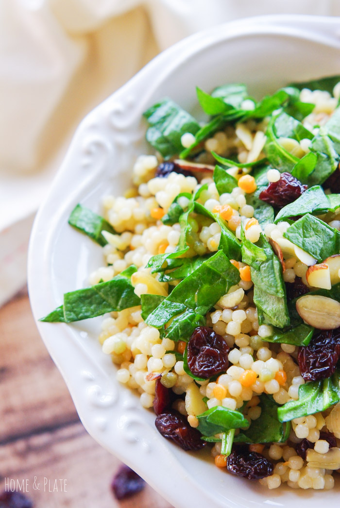 Cherry Almond Moroccan Inspired Couscous