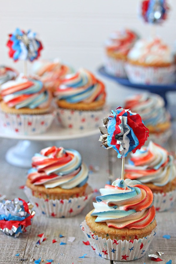 Exploding Cupcakes