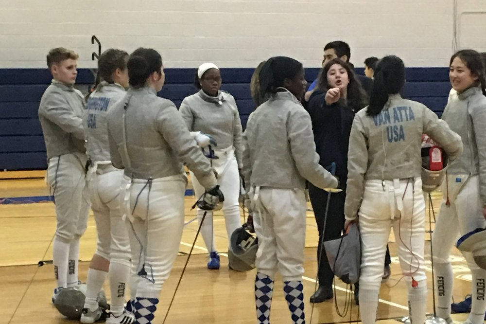 Sabre Girls — District 5 @ MHS 27 Jan 2019