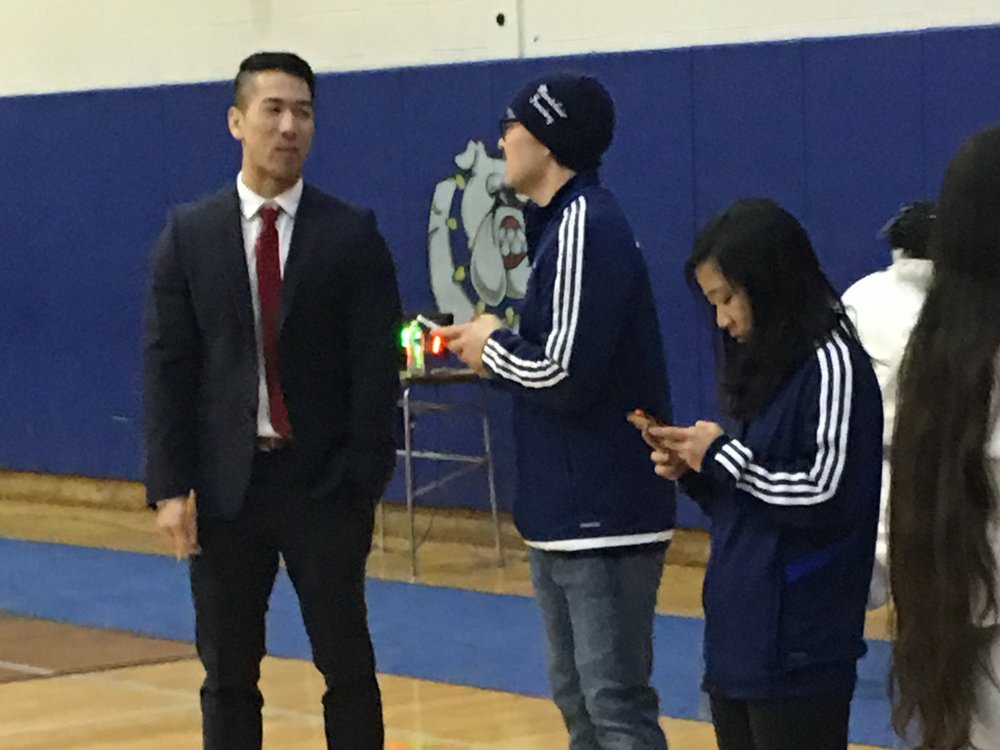 Coach Chang and Coach Ya — District 5 @ MHS 27 Jan 2019