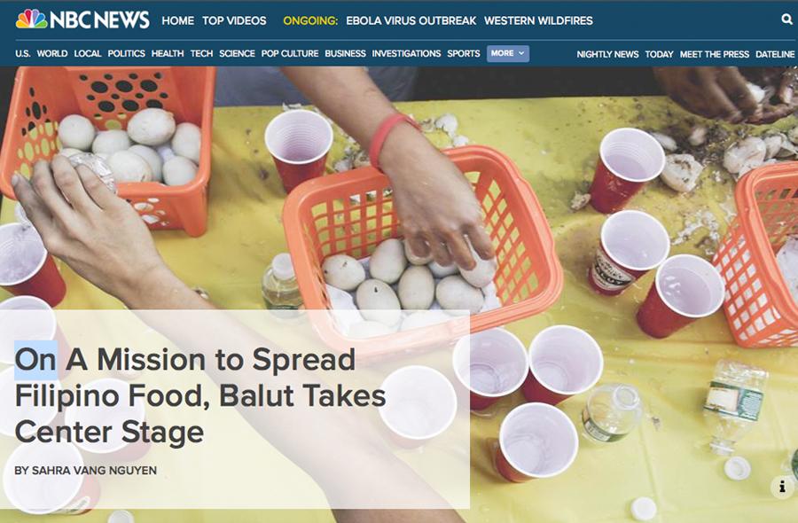 balut eating contest - sahra vang - nbc