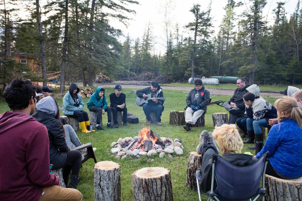 Leonard and campfire.jpg