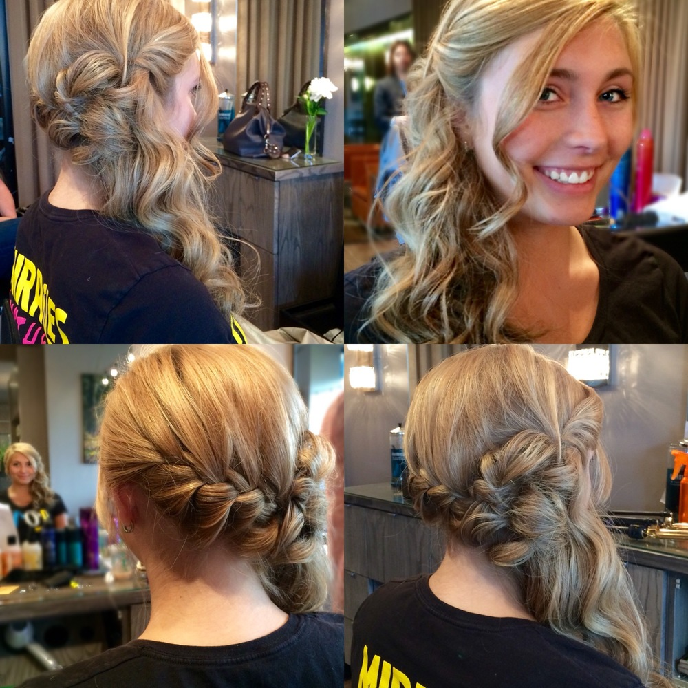 Updo by Becki Kunnath
