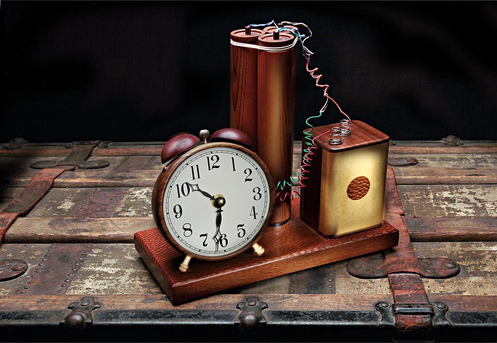 Terminal Clock –Dennis Schmidling