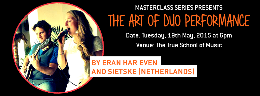 Master class on duo-playing at the True School of Music