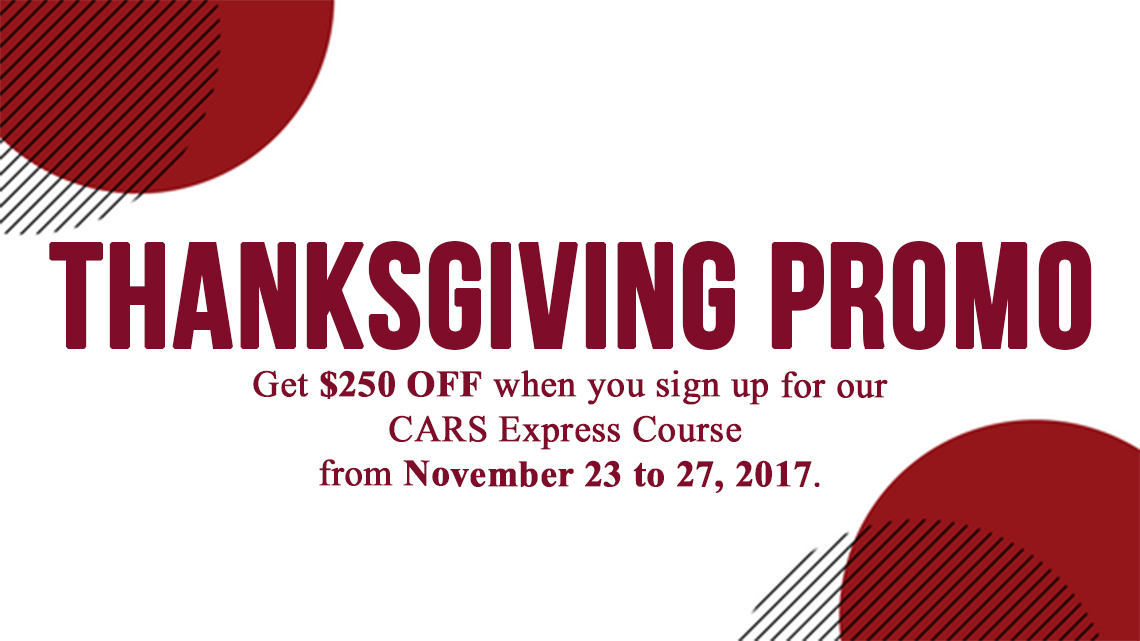 Thanksgiving Promo 2017