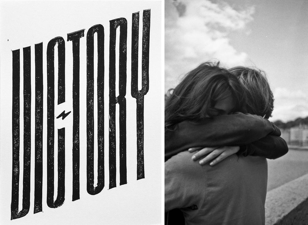 thank you for victory by neuarmy surplus co. and Anaïs&Quentin by Margot Gabel