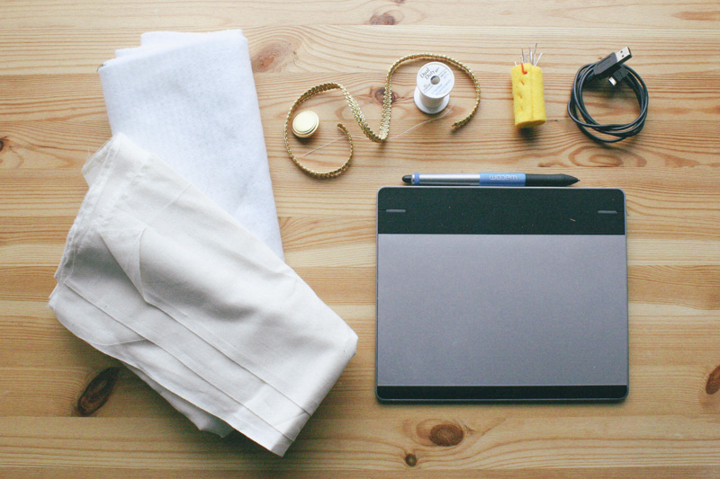 wacom tablet case diy by everglow handmade