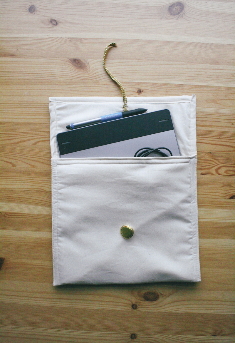 wacom tablet case diy by everglow handmade 5