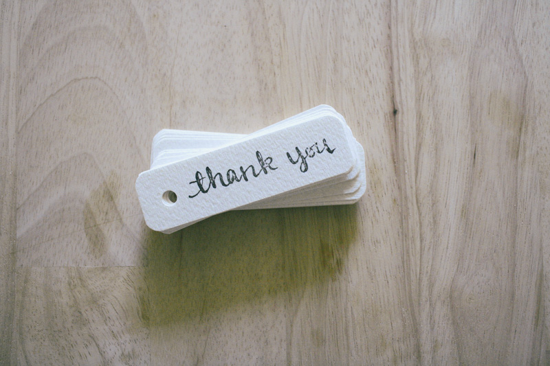 thank you tags by everglow handmade 4