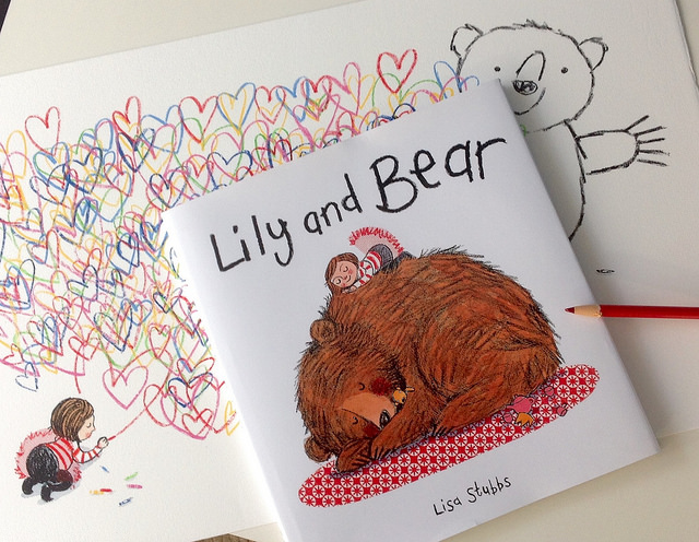 lily and bear by lisa stubbs for everglow handmade