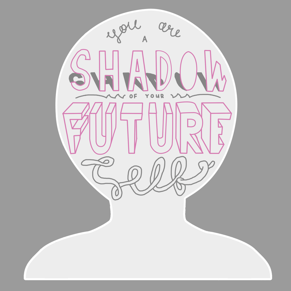 you are a shadow of your future self nt wright quote