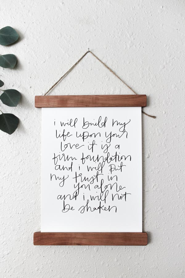 housesfires build my life print