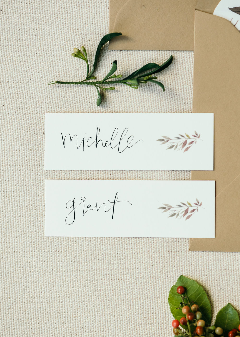 beautiful autumn wedding invitations 14