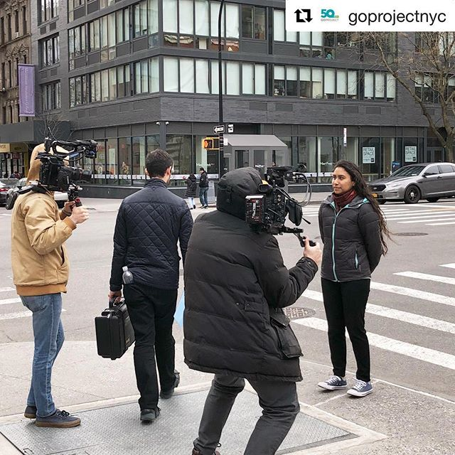 On location 🎥🎥 // the incredible @goprojectnyc celebrates its 50th anniversary #goturns50 . . . #cinematography #cinematographer #dplife #director #directorlife #productionlife #setlife #documentary #dırectorofphotography #cinema #moviemagic #filming #filmmaking #filmproduction #creativedirector #creative #shoot2kill #ArtOfVisuals #justgoshoot #peoplescreatives
