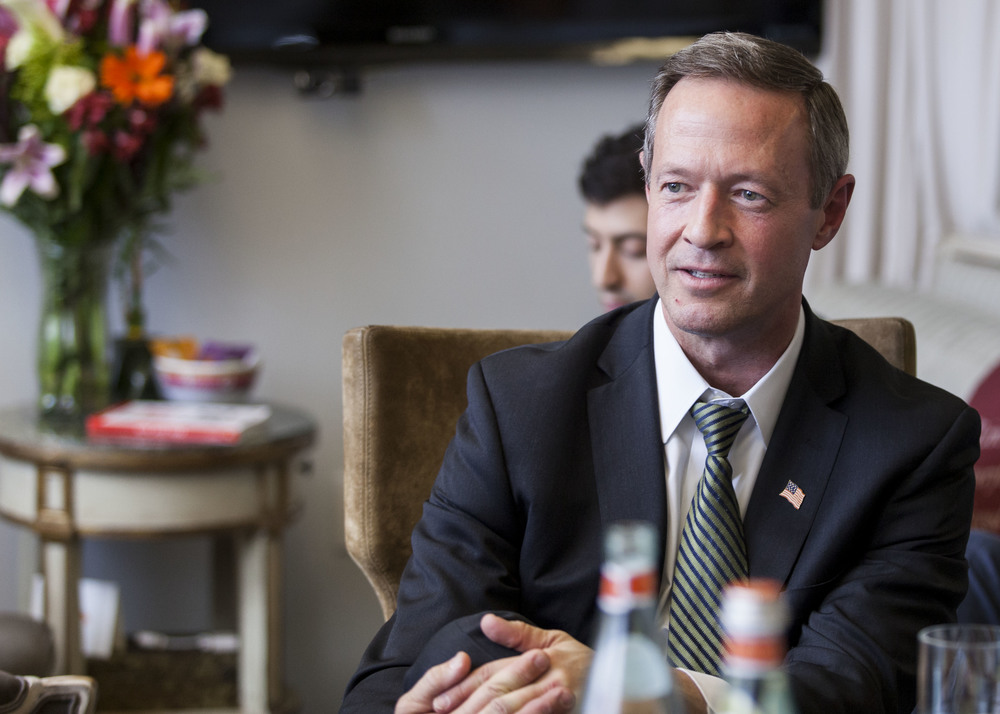 Presidential candidate Martin O'Malley, 2015.