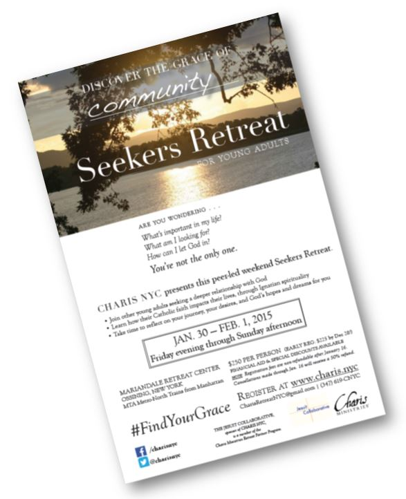 [DOWNLOAD THE SEEKERS RETREAT FLYER]