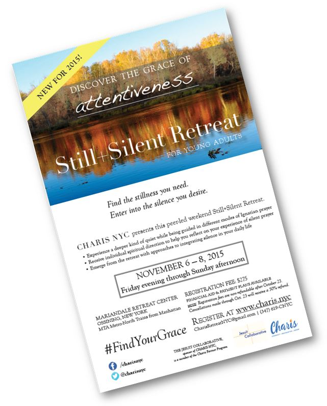 [DOWNLOAD THE STILL+SILENT RETREAT FLYER]