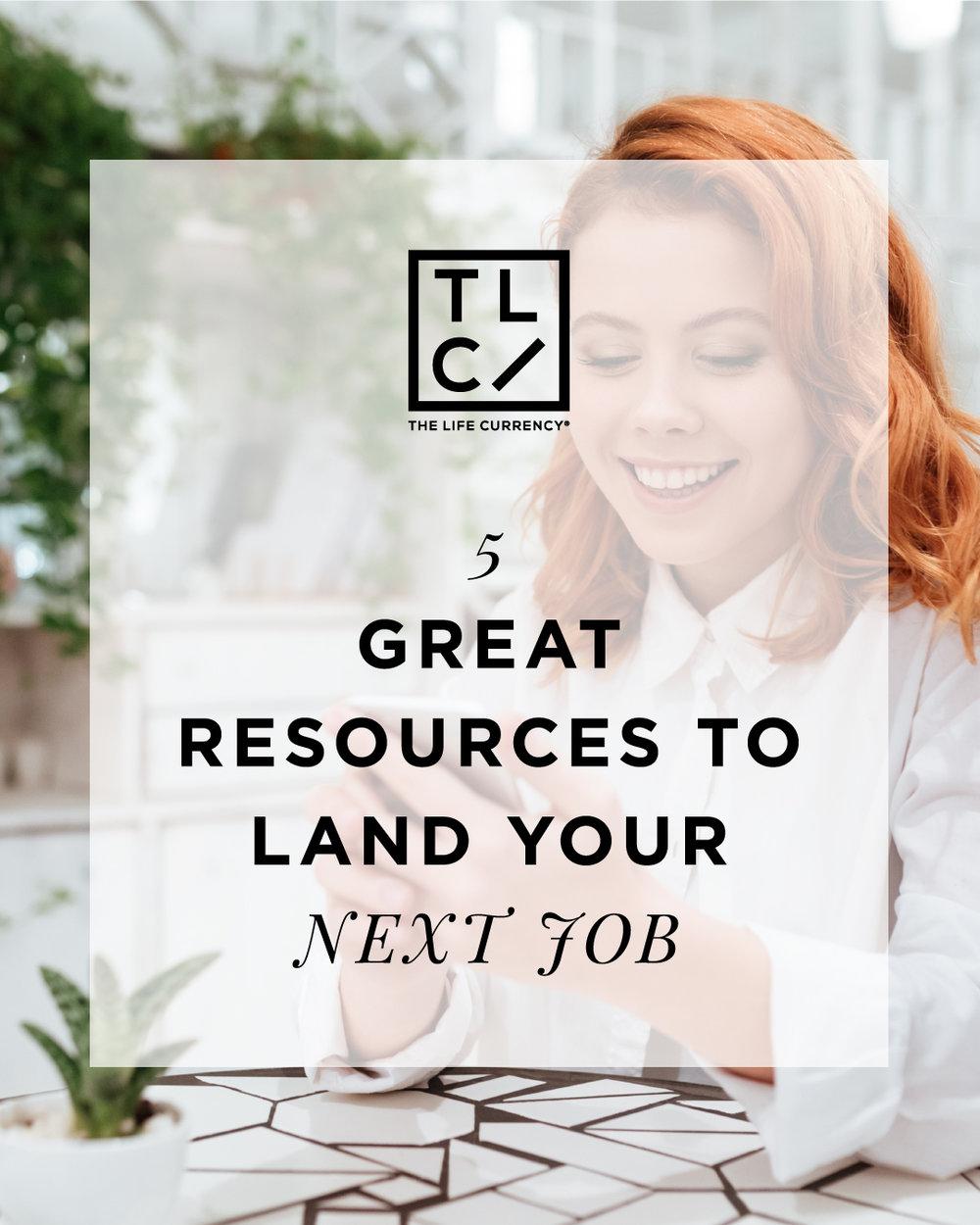 Landing Your Next Job