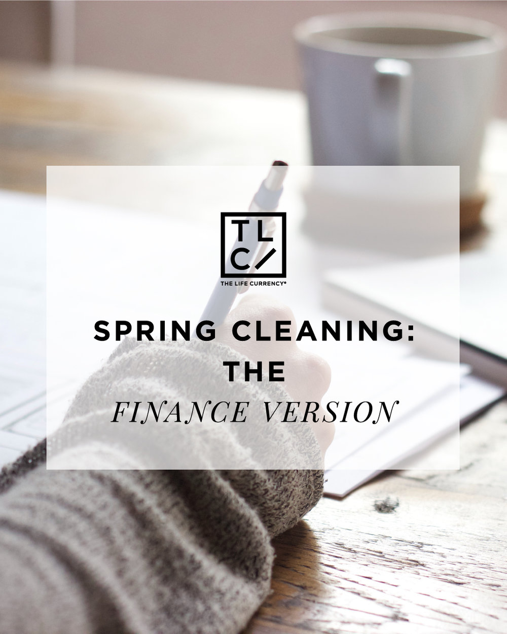 Spring Cleaning: The Finance Version